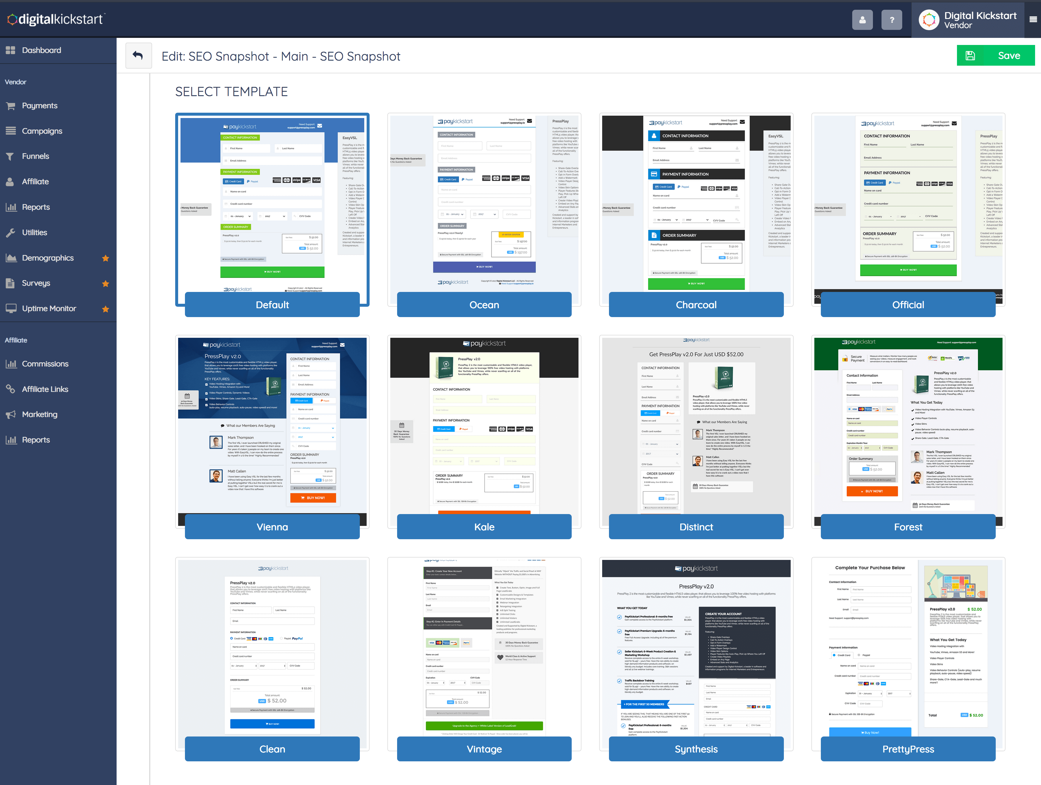 8 New Beautiful Checkout Templates to Help Your Products Sell!