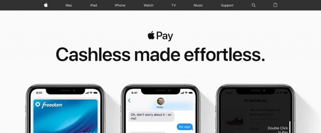 Apple pay online payment method