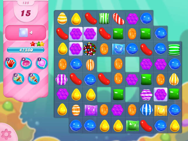 Example of candy crush, freemium app that uses alternative means to convert customers to paying