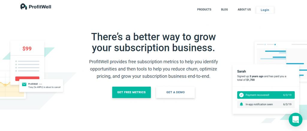 Profitwell, freemium service