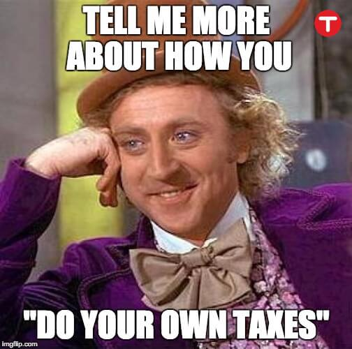 sales tax on services meme