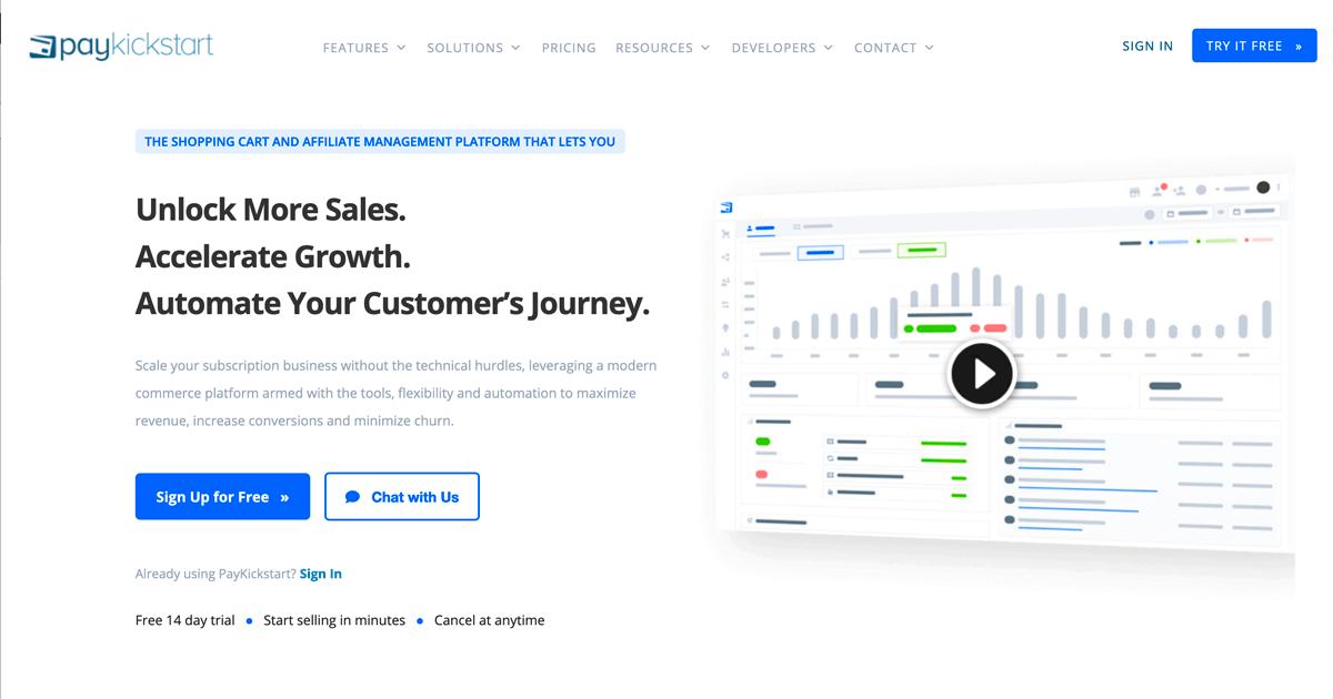 Subscription Billing & Affiliate Management Platform   PayKickstart