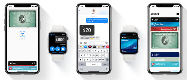 Apple pay device examples