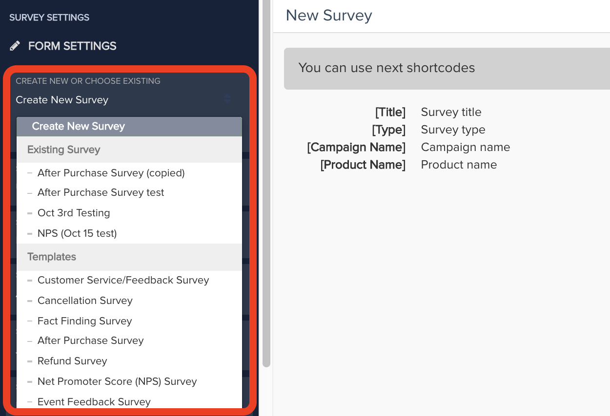 PayKickstart has an automated surveying feature